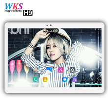 2018 newest 10 inch tablet PC 3G/4G phone call Android 7.0 octa core RAM 4GB ROM 64GB 1920*1200 IPS Dual SIM Children's tablets