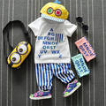 0-3 years Excellent cotton T Shirt  Boy Kids Short Sleeve Tops  Tees Clothes  Free Shipping  Summer Clothing Baby boy suit