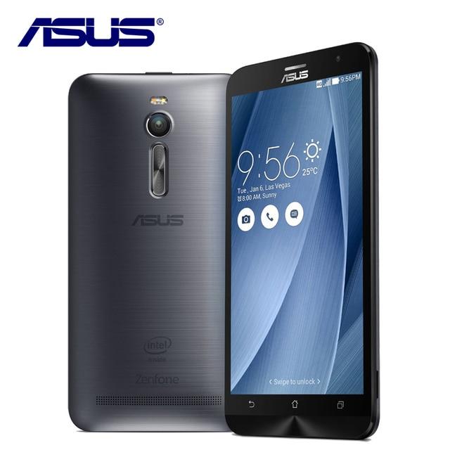 Новый Оригинальный ASUS Zenfone 2 Ze551ML Мобильного Телефона Android 4 ГБ ОПЕРАТИВНОЙ ПАМЯТИ 16 ГБ ROM 5.5 дюймов 3000 мАч 13MP Quad Core LTE 4 Г Смартфон