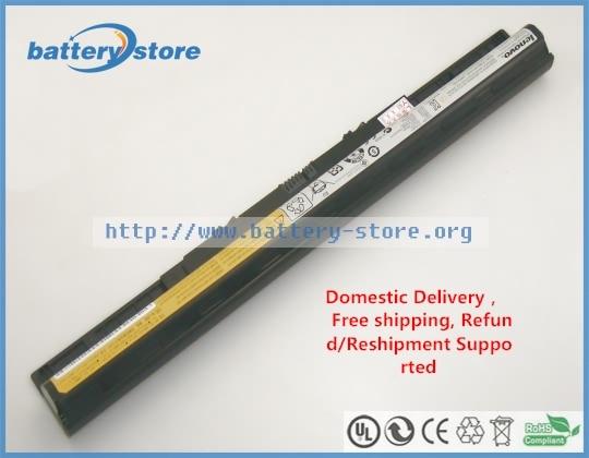 Genuine Laptop Batteries   For  L12S4A02,Lenovo Z40,G400s,IdeaPad Z710,G40-70,G500s,G410s,S510p Touch,S410p,14.4V,4 Cell