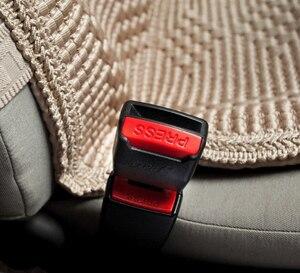 Image 3 - 1 Uds clip para cinturón de seguridad de coche cubierta Universal niños ajustable cinturón de seguridad extensor extensión hebilla de seguridad cinturón de seguridad titular de la tarjeta