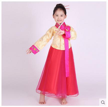 Children Korean National Costume Hanbok Traditional Dress Three Colors Free Shipping In Asia Pacific Islands Clothing From Novelty