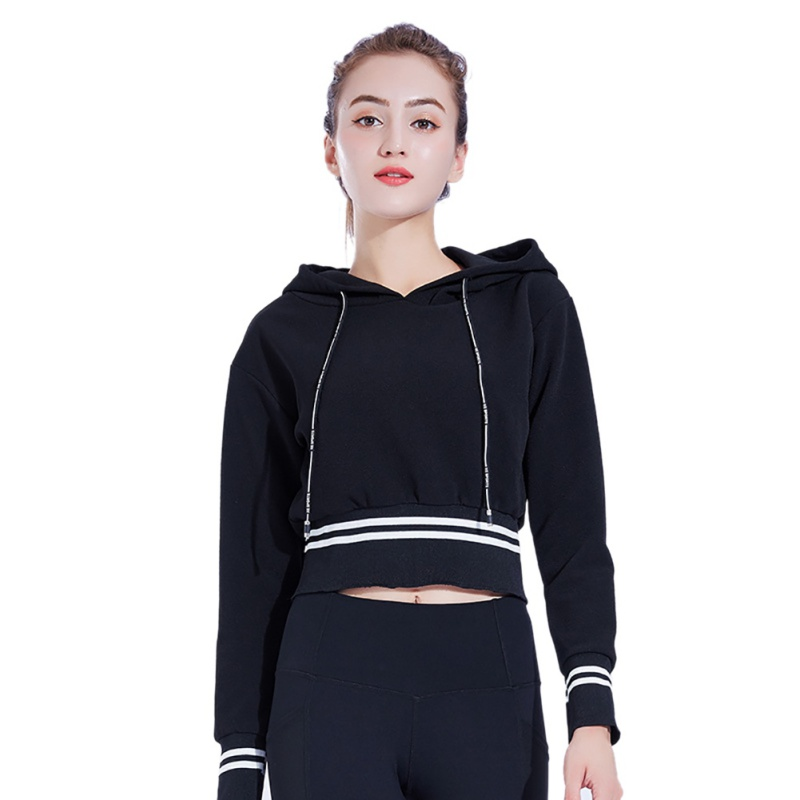 Stripe Fitness Hoodies