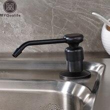 Нержавеющая сталь и пластик Бесплатная доставка Кухня грех мыла 220 mlpress жидкого мыла окно