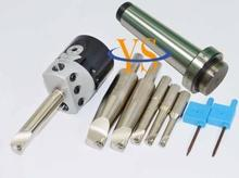 Nouveau MT2 M10 et F1  12 50mm perçage tête et queue 12mm 6 pièces borng bars & 10 pièces plaquettes de carbure