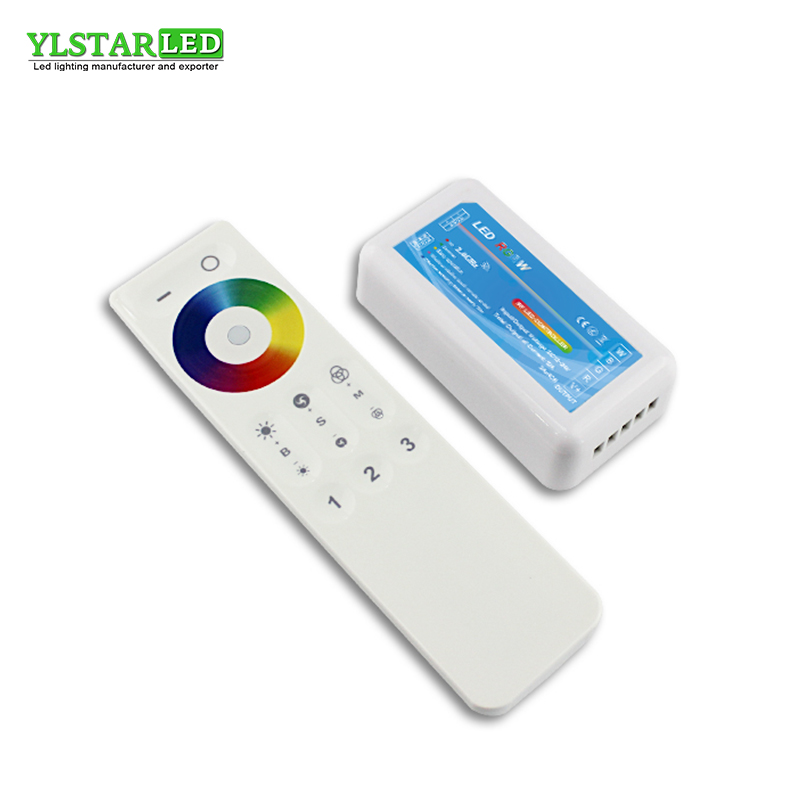 2018 New YLSTAR <font><b>12V</b></font> 24V 2.4G <font><b>RF</b></font> Wireless 3 Zone Touch remote RGBW Adjustable dimming Controller <font><b>Dimmer</b></font> for RGBW <font><b>LED</b></font> Lamp Strip