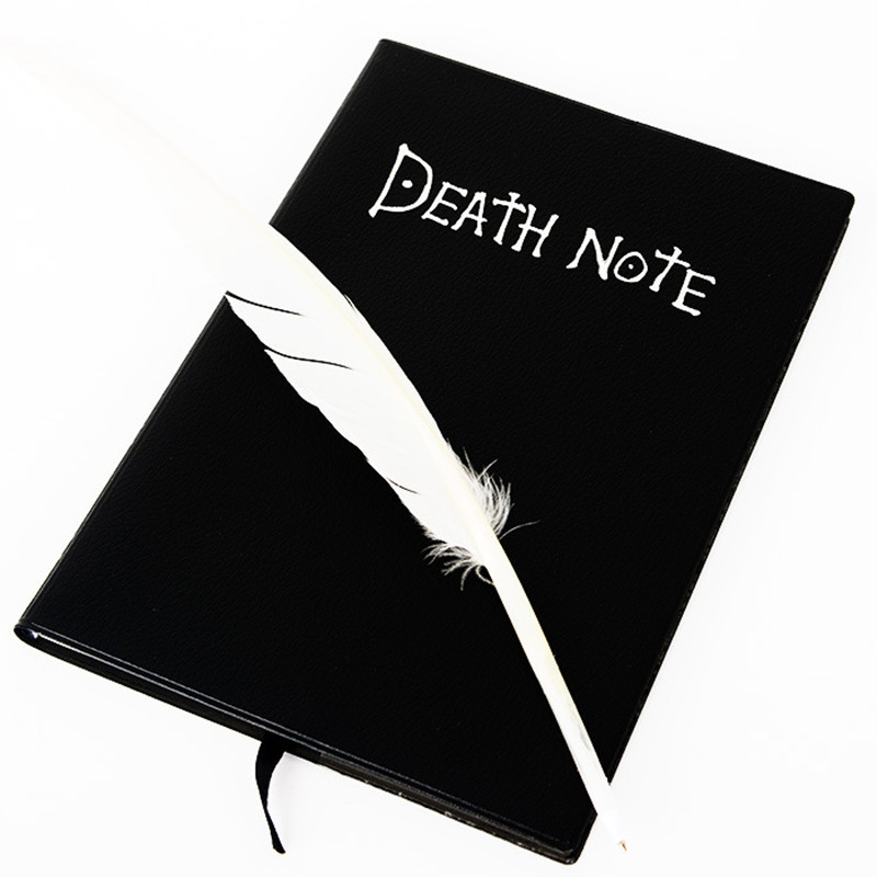 Vintage Anime Pleanner Agenda Organizer Notebook Death Note Sketchbook Journals Notebooks Diary School Office Supplies death note book hot fashion anime theme death note cosplay notebook new school large writing journal 20 5cm 14 5cm
