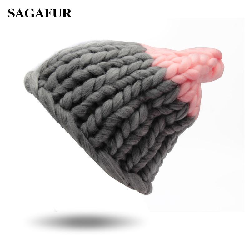 Women's Cap Winter Stylish Warm braid Crochet Hat Female Fashion Soft   Skullies     Beanies   For Ladies Casual Brand Knitted Hat Girls