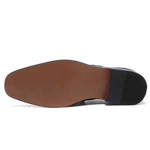 Image 5 - Misalwa 38 48 Casual Suede Men Oxford Dress Shoes Pointed Toe Mens Formal Shoe Khaki Elegant Simple Suit Gentleman Loafers Flats