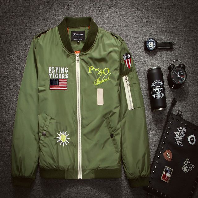 pero no vulgar presentación linda € 36.2 |La Marca de los hombres, más el tamaño 3XL chaqueta Aeronautica  Militare coste de la nueva llegada Del Ejército Del Aire de prendas de  vestir ...