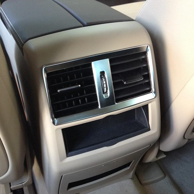 Для Mercedes Benz GLE GLS 15 17 W164 X164 ML GL 13 16 ABS хром Кондиционер Выход вентиляционное отверстие крышка отделка