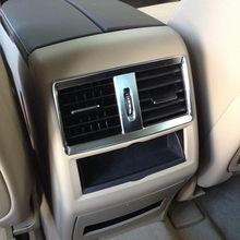 غطاء فتحة التهوية لمنفذ تكييف الهواء من الكروم ABS لـ Mercedes Benz GLE GLS 15-17 W164 X164 ML GL 13-16