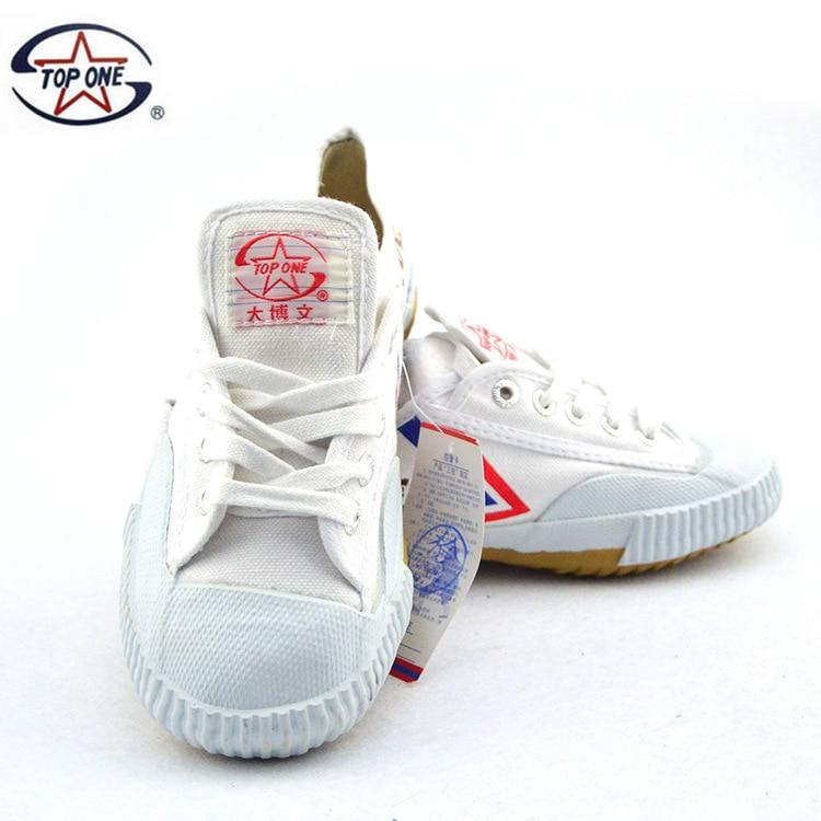 Детская обувь для кунг-фу, боевые искусства, Тай-Чи, тхэквондо, Wushu обувь для карате, спортивные тренировочные кроссовки, черно-белые