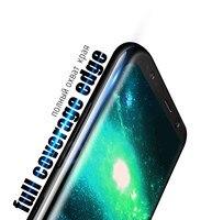 9 ч закаленное стекло для samsung галактики примечание 8 С9 С8 плюс стекло экран защитная пленка для samsung С6 С7 край Полное покрытие стекло фильм