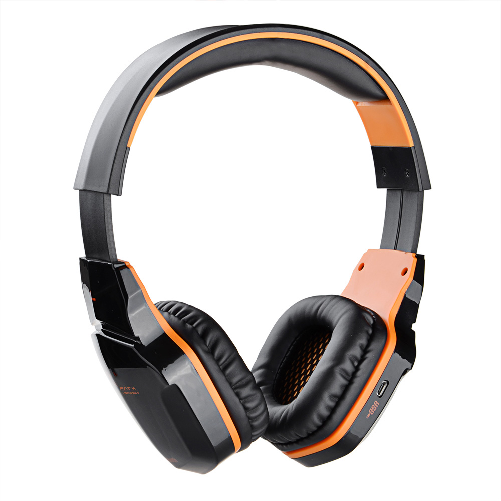KOTION EACH Bluetooth Headphone Wireless Gaming Earphone Computer Gaming Sports Headsets NFC with Mic for iPhone iPad Samsung kotion each b3506 foldable bluetooth 4 1 gaming headsets with mic black orange