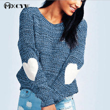 2017 Plus size Loose knitting Pullovers Winter Female Casual Thicker warm Long sleeves Cashmere Sweater For Women's clothing