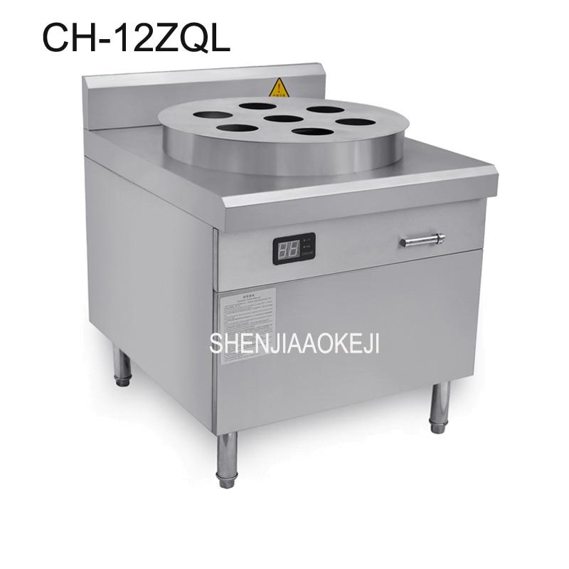 Caldera de vapor electromagnética comercial de alta potencia grande de acero inoxidable desayuno restaurante máquina de bollos al vapor 12kw 380 V 1 pc