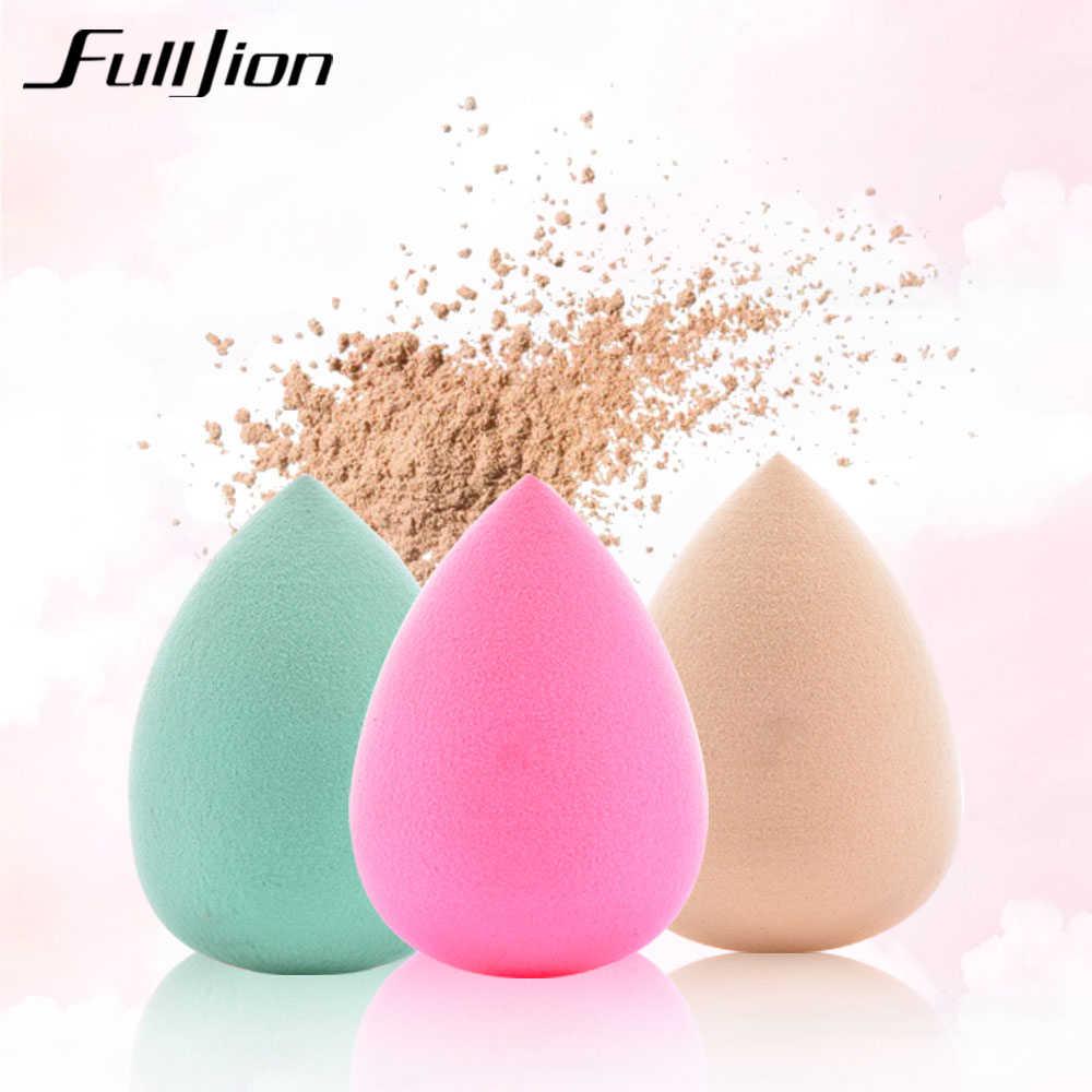Fulljion base de maquillaje esponja cosmética para polvos suave cosmético belleza de esponja cuidado de belleza facial herramientas