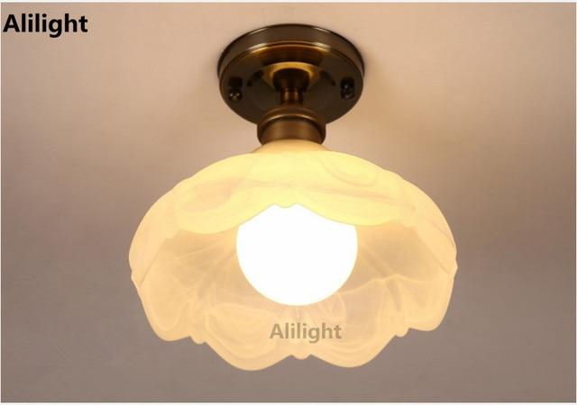 Lampade Da Soffitto Vintage : Americano retrò edison luci di soffitto vintage lampada da