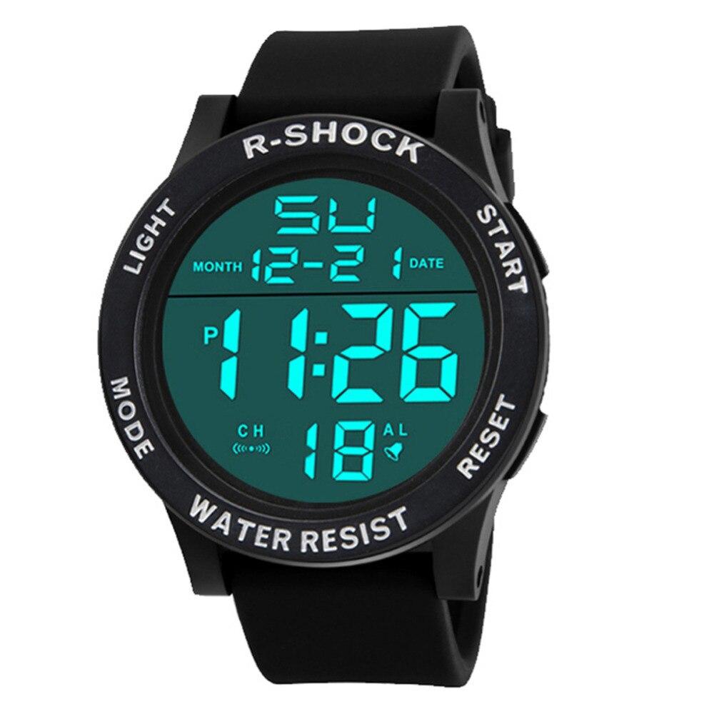 Herrenuhren Top Marke Digitale Uhr Männer Elektronische Handgelenk Uhren Gummi Led Sport Uhr Relogio Masculino Digitale Männlichen Uhr Erkek Saat Digitale Uhren
