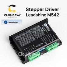 Cloudray Leadshine 2 Фаза аналоговый шагового драйвер M542 max 50 vdc 4.2A для Motores Paso a paso Nema 23