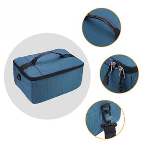 Image 5 - Bolsa tipo bandolera para cámara DSLR a prueba de agua bolsa de lente de cámara de inserción acolchada portátil bolsos dslr Handle bolsa de lente de cámara Case Pouch
