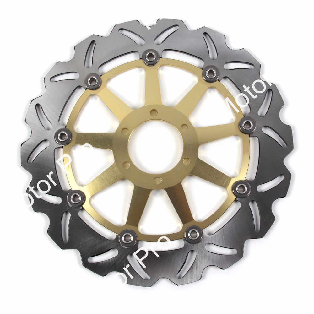 2 PCS FOR YAMAHA SRX 400 1991 SZR 660 1995 1996 1997 1998 1999 2000 2001 CNC Floating Front Brake Disc Rotor brake disk