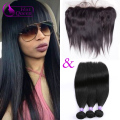Brazilian Straight Hair Bundles With Closure Ear To Ear Lace Frontal Closure With Bundles Frontals With Bundles Human Hair