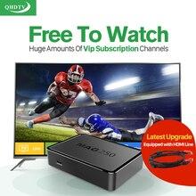 PARFAIT! MAG 250 Iptv Boîte Europe Arabe Linux TV Boîte QHDTV IPTV Abonnement Espagne Turc Pays-Bas MAG250 Wifi IPTV Tv Box