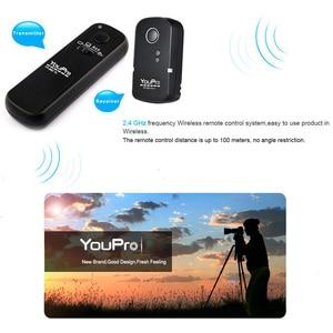Image 2 - YouPro YP 860 E3 2.4G Draadloze Afstandsbediening Ontspanknop Zender Ontvanger 16 Kanalen voor Canon Pentax Dslr camera