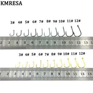 Image 4 - 500 pz/set amo da pesca di dimensioni miste #3 ~ 12 carpa in acciaio al carbonio amo da pesca scatola originale Jigging esca gancio attrezzatura da pesca