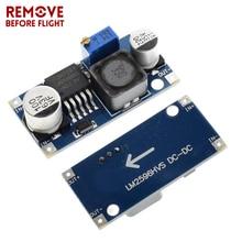 LM2596 постоянного тока DC понижающий преобразователь 3,0-40 В до 1,5-35 в Питание понижающий модуль