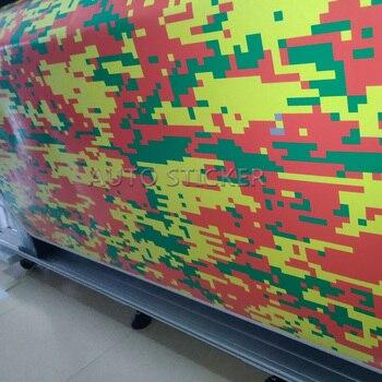 5/10/15/20/25/30*1.52m Colorful Digital Camouflage Vinyl Sticker Auto Body Sticker SUV TRUCK sticker camo foile wrap