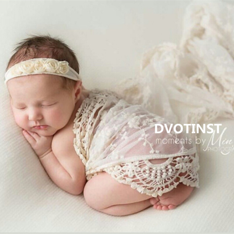 Babies lace Wraps Newborn Photography Accessories Baby Photo Props