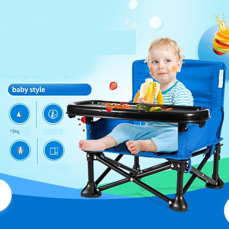 Portable chaise de bébé Pliant Camping En Plein Air Intérieur Bébé chaise haute Pour Nourrir Les Bébés Enfant Enfants Infantile Siège livraison directe