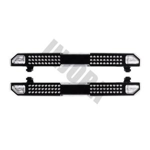 Image 4 - INJORA 2PCS TRX4 Metal Pedal Rock Sliders Board for 1/10 RC Crawler Traxxas TRX 4 Trx 4 Upgrade Parts