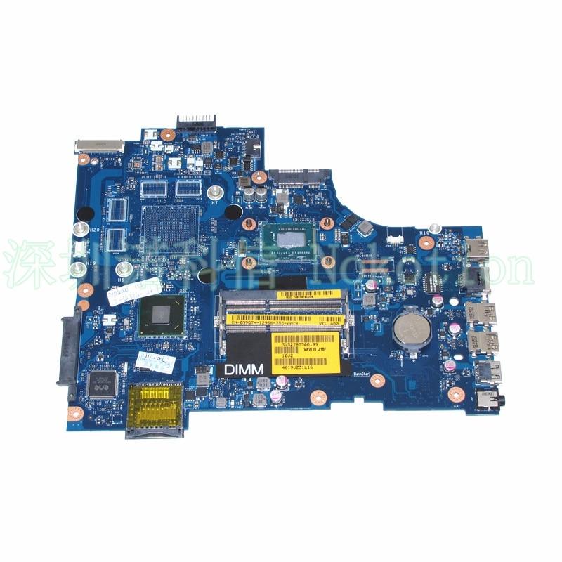 VAW11 LA-9102P CN-0N9G7X N9G7X For Dell Inspiron 3721 5721 Laptop Motherboard SR0XG I7-3537U DDR3