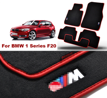 5pcs Brand New Auto Carpet Mats Carpet Perfect  Fitted For BMW 1 Series F20 Car Floor Mats