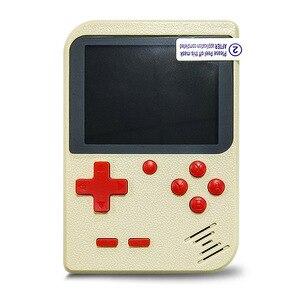 Image 5 - כף יד קונסולת משחקי וידאו משחק 8 ביט נייד מיני רטרו משחק קונסולת 168 משחקי ילדי ילד נוסטלגי נגן