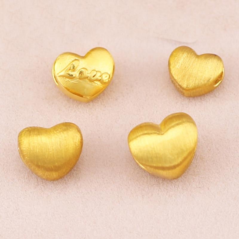 24 K Geel Gouden Hanger Hot koop Vrouwen 999 3D Geel Goud Liefde Hart Hanger P6217-in Hangers van Sieraden & accessoires op  Groep 2