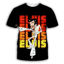 PLstar Cosmos Elvis Presley 3D Print Hoodie/Sweatshirt/Jacket/shirts Men Women Tees hip hop apparel black plus size XS-7XL