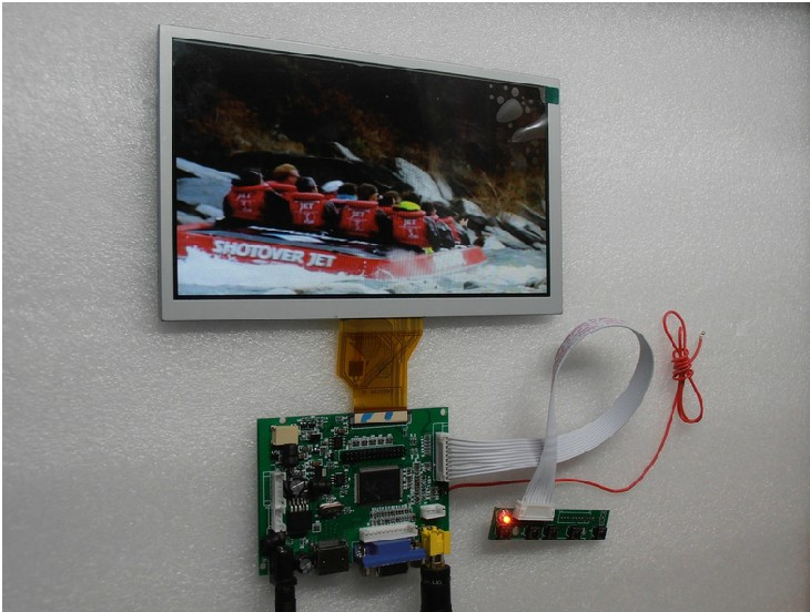 Innolux 8 inch high-definition LCD screen kit 1024*768 DIY vehicle reversing priority new original package innolux 8 inch ips high definition lcd screen hj080ia 01e m1 a1 32001395 00