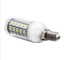 E14 10W 48x5730SMD 1000LM 6000-6500K White Light LED Corn Bulb (110V OR 220V)