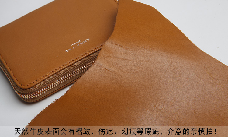 carteira de couro moda feminina Interior : Note Compartment, suporte de Cartão