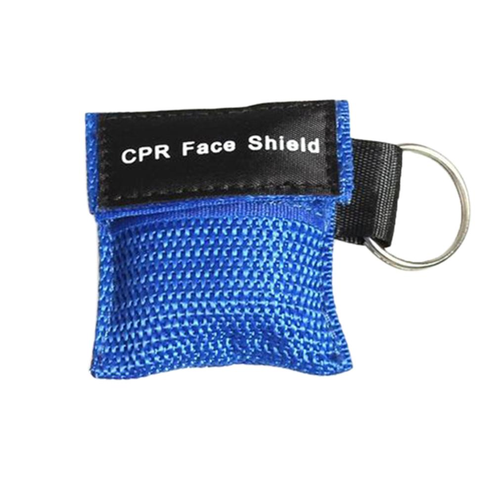 Joylife First Aid Resuscitation Facemask Face Mask Shield Key-ring Mouth To Mouth Mask