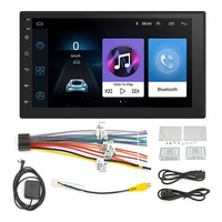 2 Din Universal Car Radio GPS Navigation Android Car Bluetooth 7 HD Touch Screen MP5 Player WIFI 16G Memory Car Multimedia