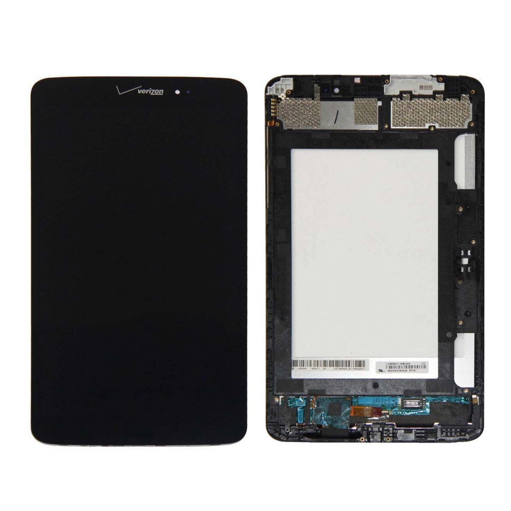 +Frame black LCD Display + Touch Screen Digitizer Assembly Replacements FOR LG G Pad 8.3 LTE Verizon VK810 Free shipping