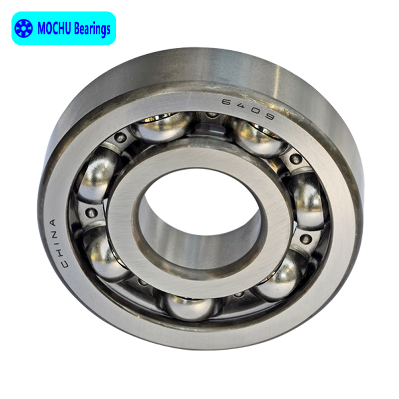 1pcs Bearing 6409 45x120x29 MOCHU Open Deep Groove Ball Bearings Single Row High Quality 1pcs bearing 6318 6318z 6318zz 6318 2z 90x190x43 mochu shielded deep groove ball bearings single row high quality bearings