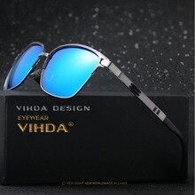 5fd5b8d9bba89 VIAHDA Polaroid Lente Polarizada Óculos De Sol Dos Homens Marca Original HD  Revestimento Reflexivo Condução óculos de Sol Mascul.