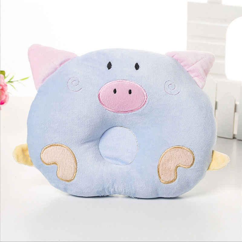 2018 новая детская форменная Подушка, предотвращающая плоскую головку, милые детские постельные подушки с лебедем, форменная подушка для новорожденных мальчиков и девочек 0-24 месяца